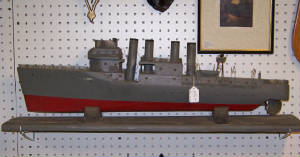 WOODEN U.S. NAVY SHIP