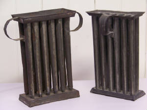 TIN CANDLE MOLDS